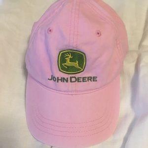 John Deere pink hat